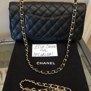 7bf63d0ef3ca6c CHANEL Bags | Black Caviar East West Flap Bag Ghw | Poshmark